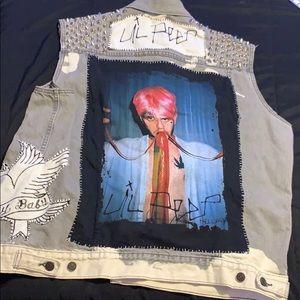 Lil peep studded vest